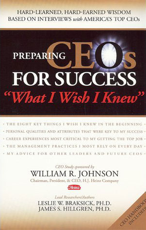 Preparing CEOs for Success book cover